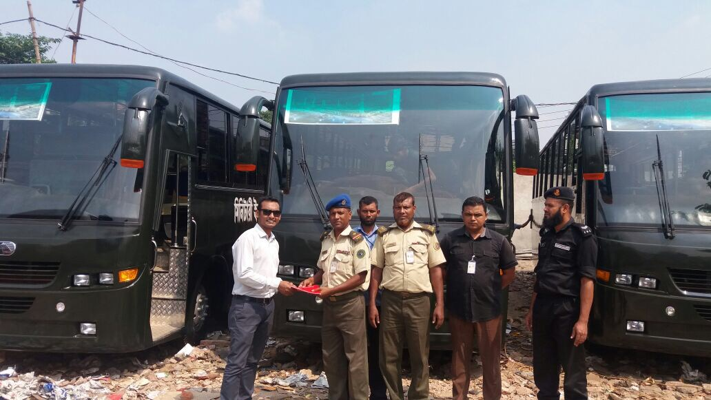 3 Units Eicher 20.15 Bus delivered